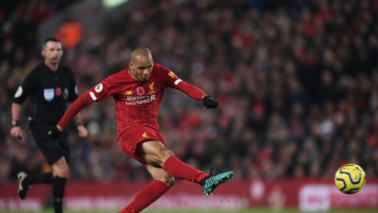 Fabinho's opener quickly followed the controversial decision not to award Man City a penalty