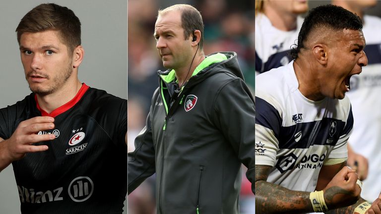 Returning Saracens, struggling Leicester and table-toppers Bristol are all key talking points across the Premiership this weekend