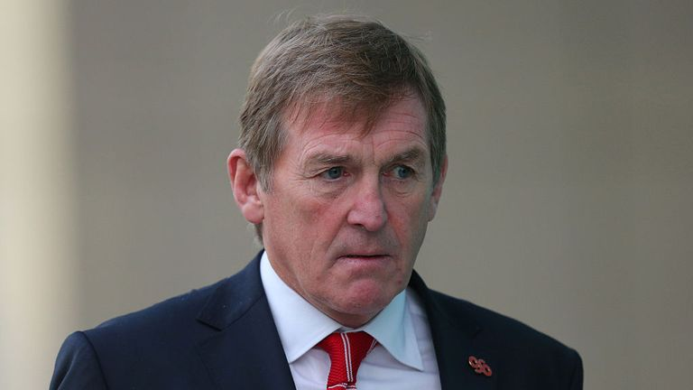 Sir Kenny Dalglish won eight league championships and three European Cups as a player and manager at Liverpool