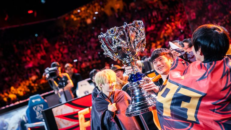 FunPlus Phoenix are the 2019 League of Legends World Championship winners (Credit: Riot Games)