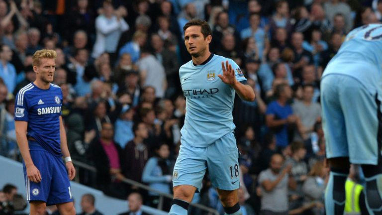 Frank Lampard hoped he would not ruin his Chelsea legacy by joining Manchester City