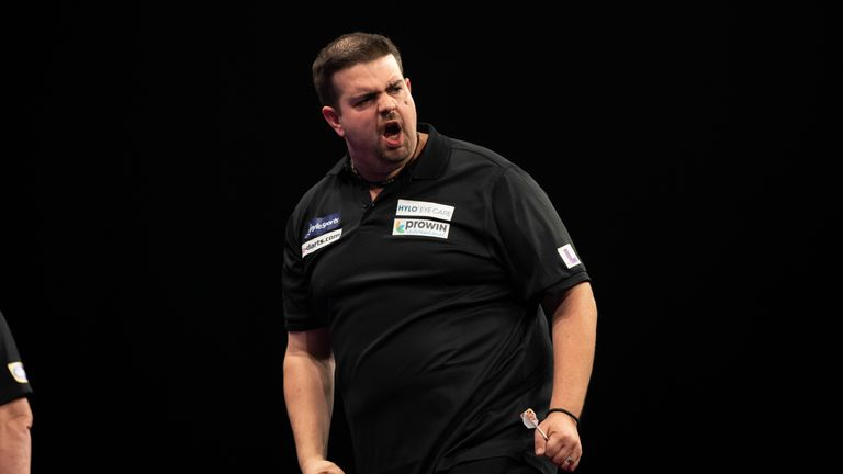 Mark Webster believes this man could go on a 'nice little run' at Ally Pally