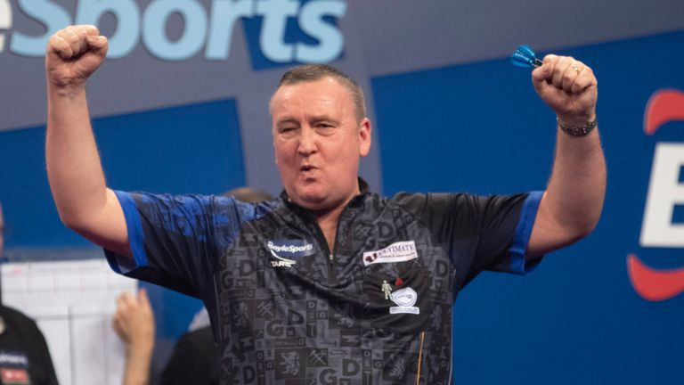 Glen Durrant wants to make a splash on his Alexandra Palace debut