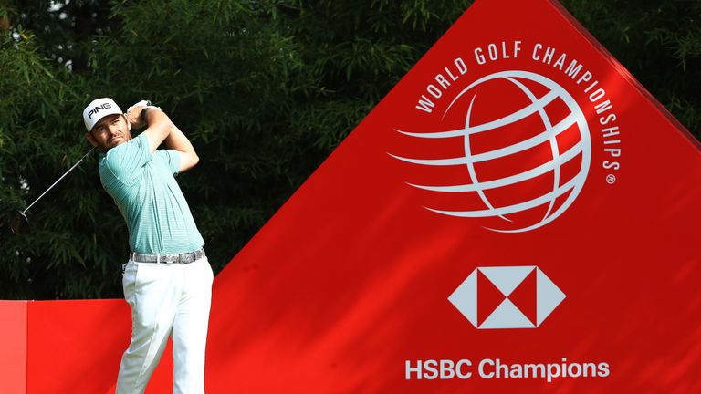 Louis Oosthuizen birdied the first five holes