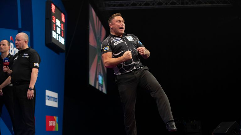 Gerwyn Price is one of the form men in world darts having reached three major finals within the last two months