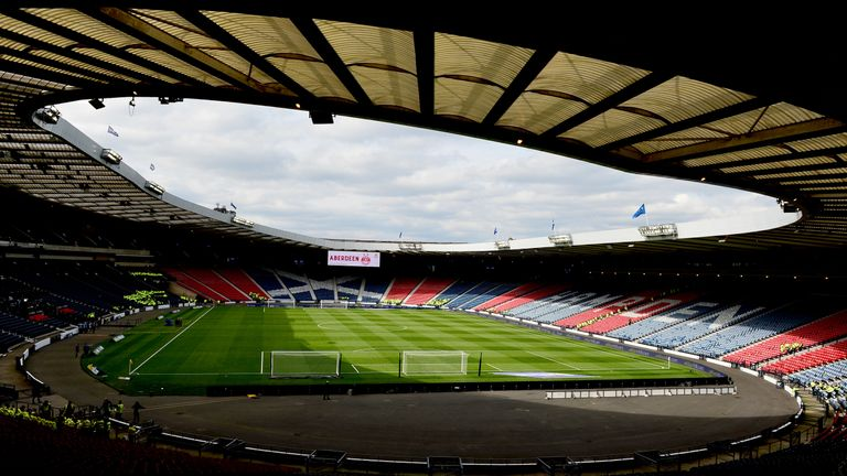 Queen's Park's Hampden Park was the world's largest stadium when it was first built in 1903