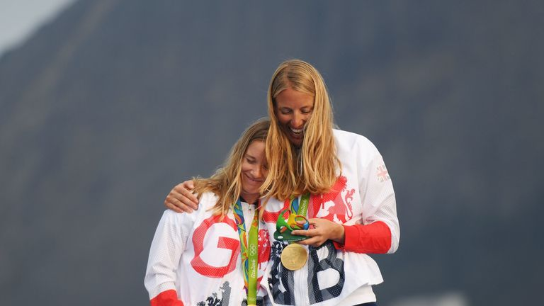 Mills won silver at London 2012 with Saskia Clark and the partnership then celebrated gold in Rio four years later