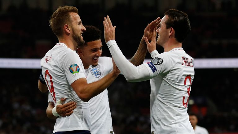 Harry Kane backs Gareth Southgate's handling of Raheem Sterling incident