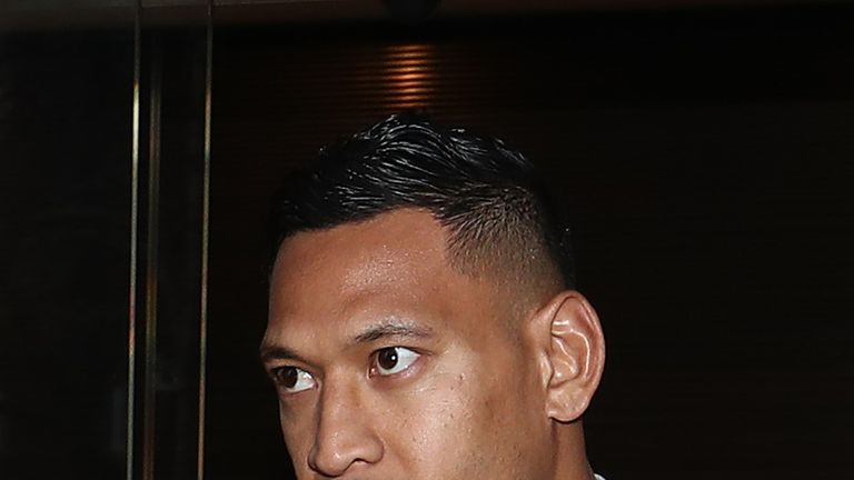 Israel Folau is fighting the termination of his contract by Rugby Australia