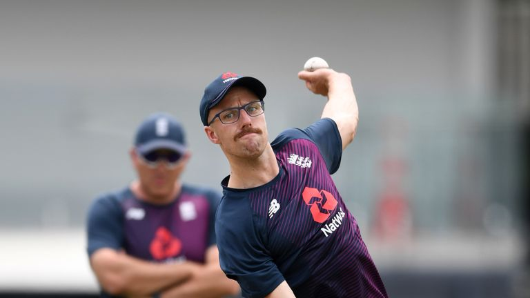 Mark Butcher described England's decision to omit Jack Leach as 'nonsense' on day one of the Test