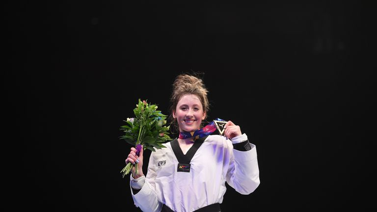 Taekwondo star Jade Jones enjoyed another superb year and has received an OBE in the Honours List