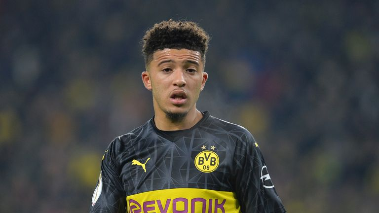 Sancho is attracting interest from a host of top European clubs