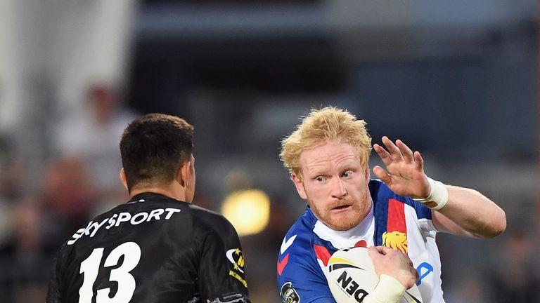 James Graham tries to get some go forward for the Lions
