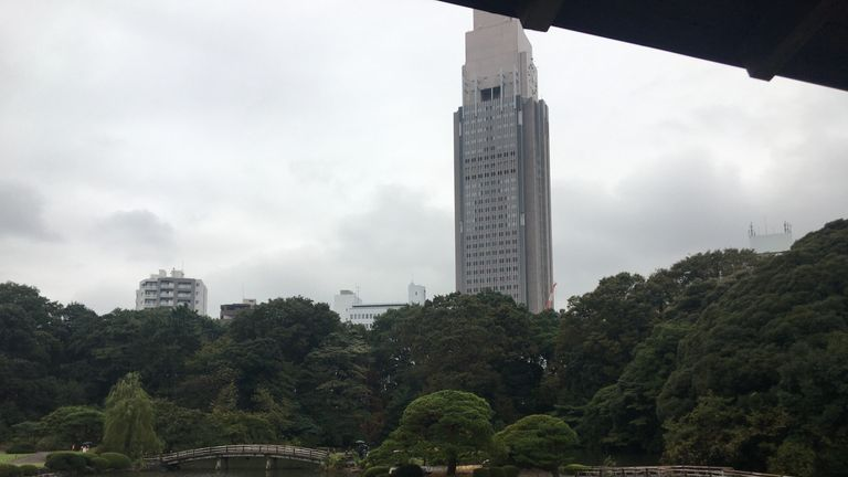 The serenity of Shinjuku's Gyoen National Garden sits just a stone's throw from the hustle and bustle of Tokyo
