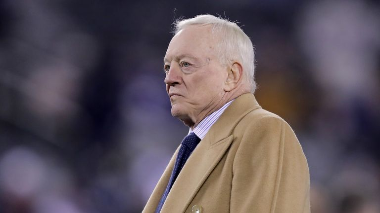 Jerry Jones has expressed his disappointment with his team