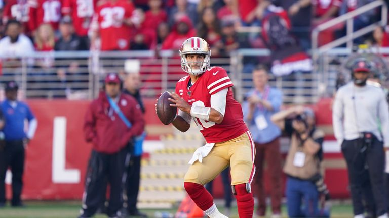 Jimmy Garoppolo has been excellent outside of a few too many turnovers