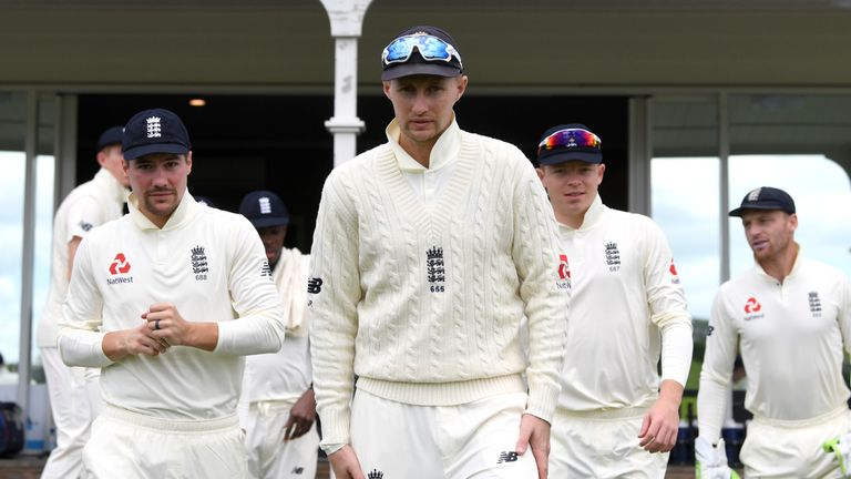 Joe Root will drop back down the order after batting at three in the Ashes