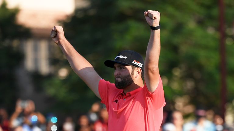 Jon's time, Jon's moment - Fleetwood doffs cap to Rahm in Dubai