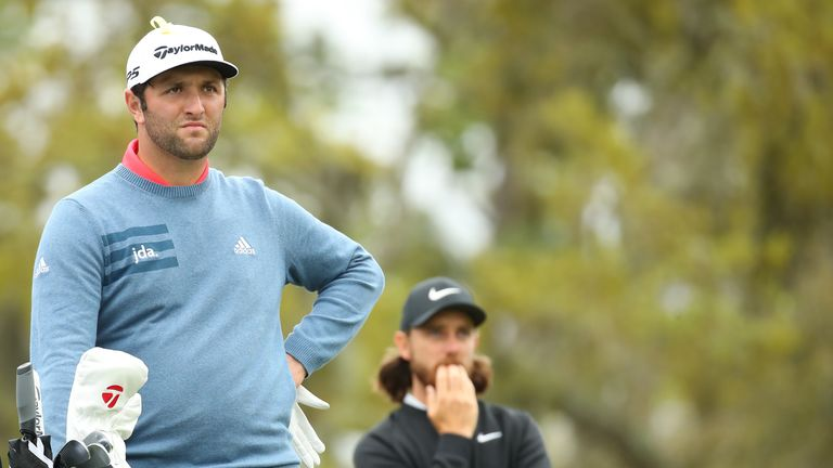 Jon Rahm and Tommy Fleetwood are among the contenders for Race to Dubai victory