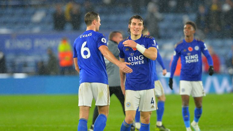 Manchester City eye up Leicester defensive duo in centre-back hunt