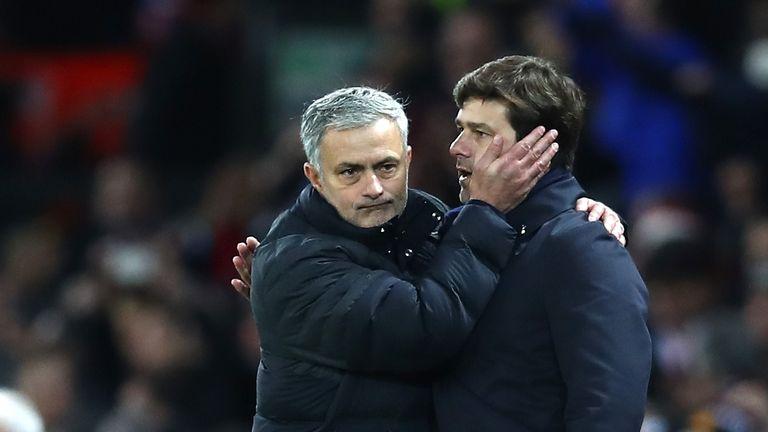 Jose Mourinho succeeded Mauricio Pochettino as Spurs head coach.