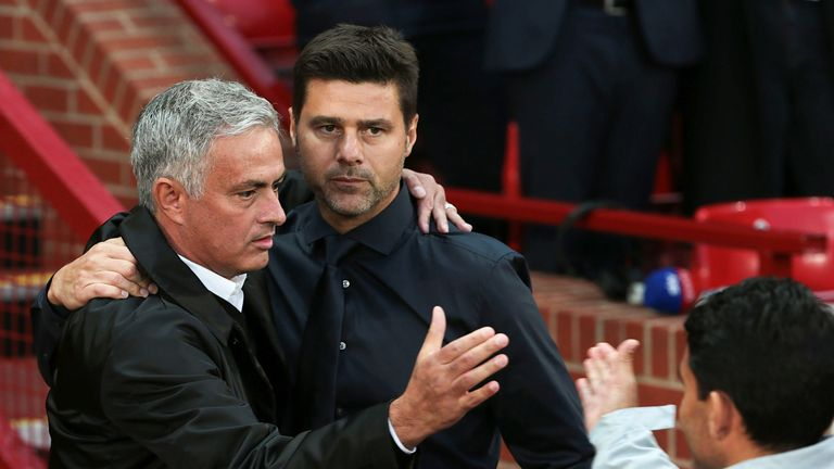 Jose Mourinho replaced Mauricio Pochettino as Tottenham head coach last week