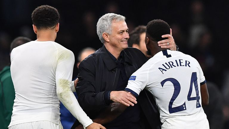 Mourinho has tailored the team to get the best from Serge Aurier