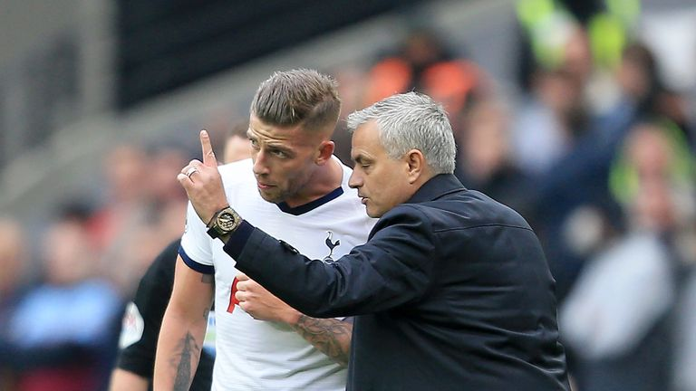 Alderweireld has been receiving training instructions from Jose Mourinho via video conference