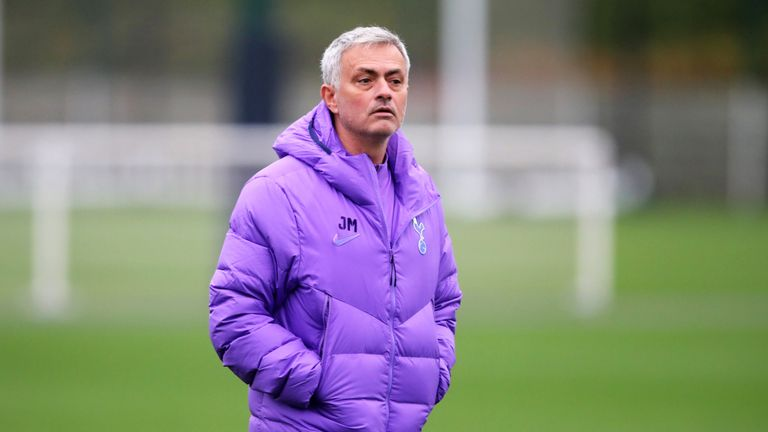 Mourinho does not want his players to be sad in defeat