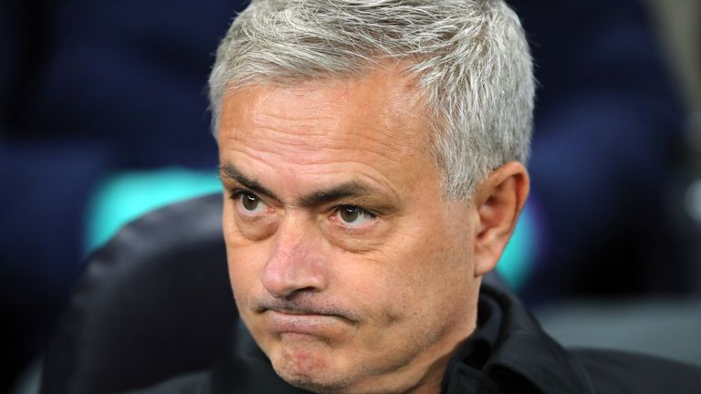 Mourinho has won four of his opening six games in charge at Spurs