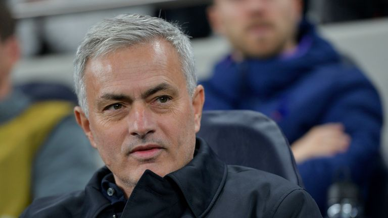 Jose Mourinho will make his first return to Old Trafford as a manager since his sacking