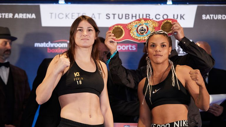 Christina Lindardatou hits out at 'fake' Katie Taylor with controversial undisputed claim