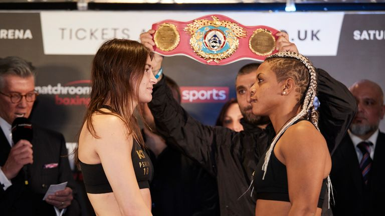 Taylor bids to become a two-weight world champion