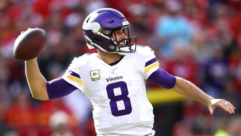 Kirk Cousins threw three touchdowns on the day
