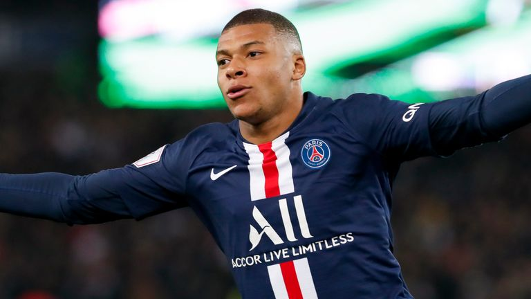 Kylian Mbappe arrived at the Parc des Princes for £121.5m in 2018, after a season-long loan
