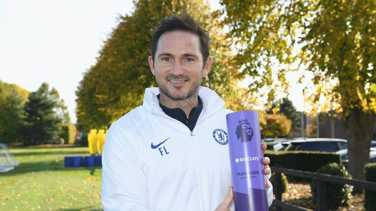 Chelsea under Frank Lampard won all three league matches in October. Picture credit: @ChelseaFC