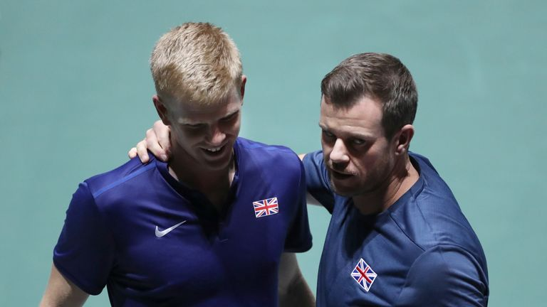 Leon Smith has been Britain's Davis Cup captain since 2010