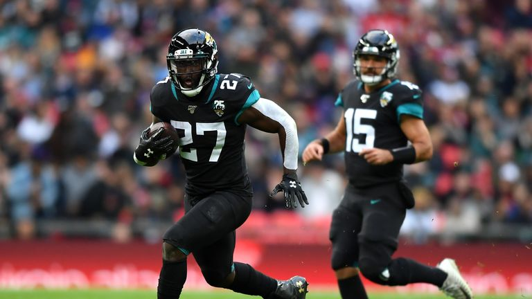 Leonard Fournette was held in check by Houston's defense