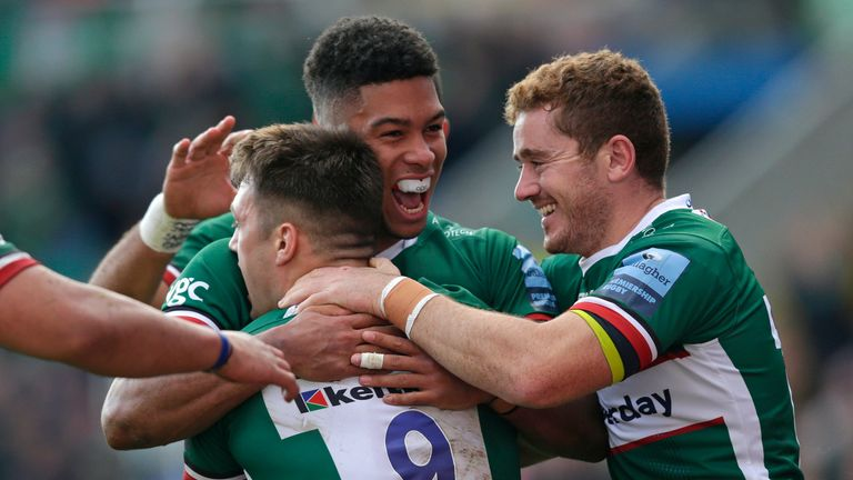 London Irish were by far the better side in victory over Leicester