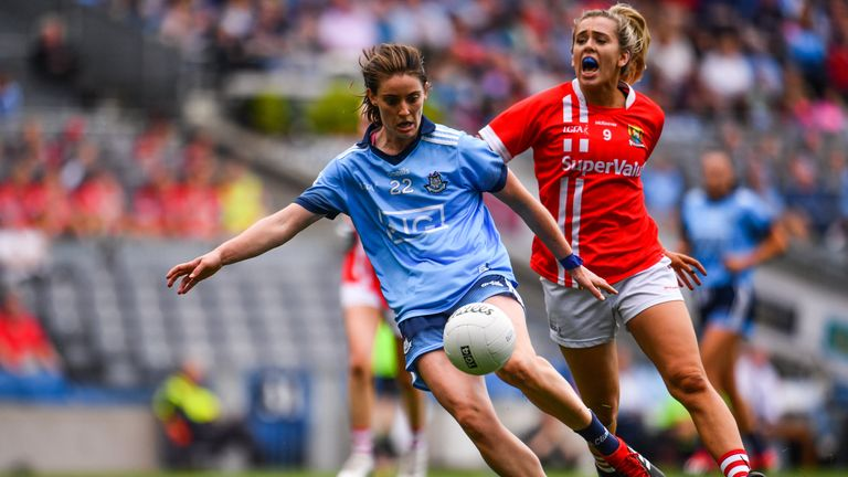 Maire O'Callaghan and Cork fell to the Dubs at the All-Ireland semi-final stage in 2019