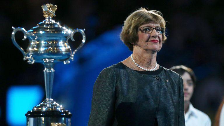Margaret Court won 24 Grand Slam singles titles (11 in the Open era)