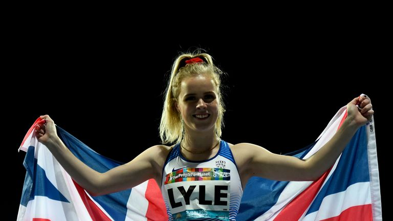 Maria Lyle won Great Britain's second gold medal on Sunday