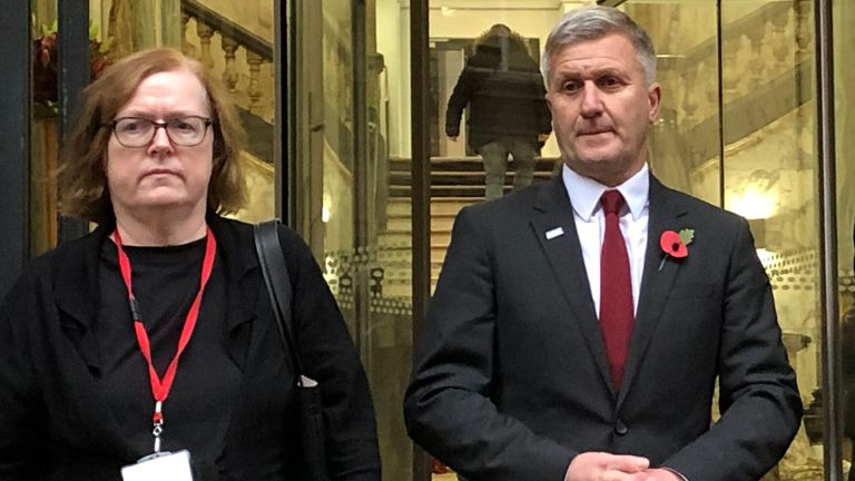 Mary O'Rourke QC (left) is representing Dr Richard Freeman