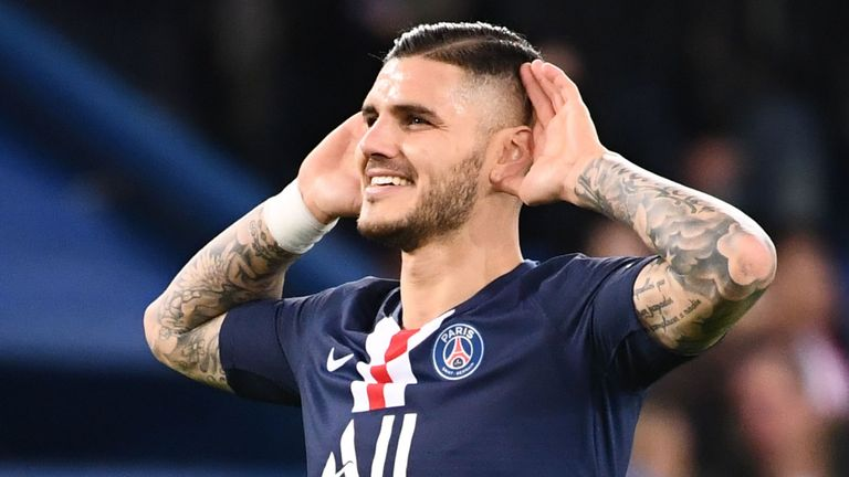 Mauro Icardi scored for PSG in their win on Friday