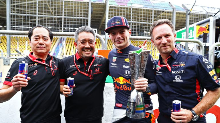 Honda to continue with Red Bull and Toro Rosso in 2021