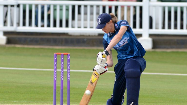Blythin was Kent's third highest run scorer as they won the Women's County One-Day Championship (picture: Ian Scammell)