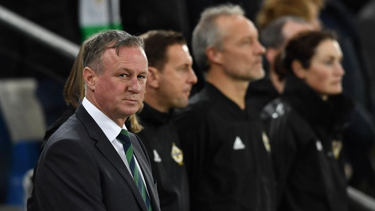Northern Ireland boss Michael O'Neill is wanted by Stoke