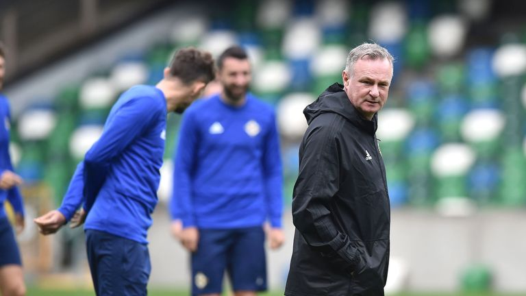 Stoke make official approach for Northern Ireland manager Michael O'Neill