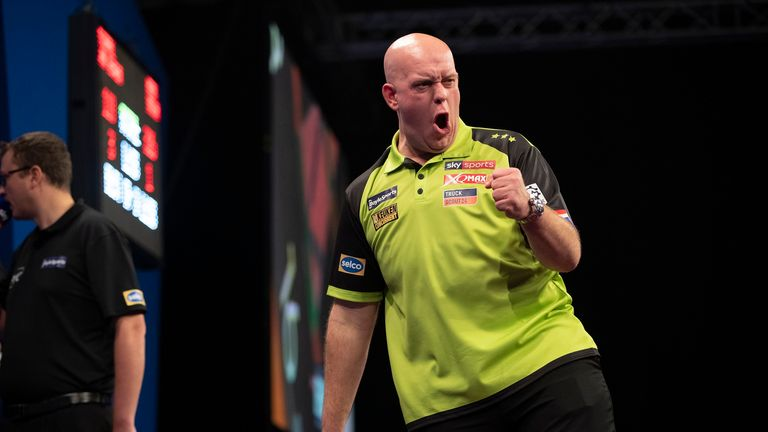 Michael van Gerwen gained revenge for his Grand Slam defeat by beating Price in a barnstormer