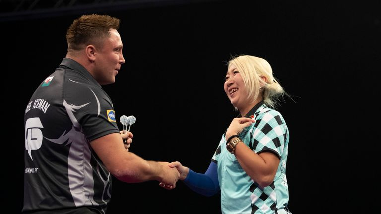 Gerwyn Price was full of praise for Mikuru Suzuki after starting his Grand Slam defence with a victory over the Japanese ace